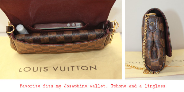 louis vuitton favorite pm. favorite-sidebysideone louis vuitton favorite pm m