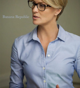Blue Oxford shirt by Banana Republic