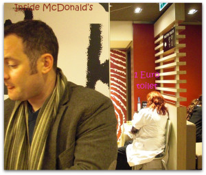 McDonalds in Amsterdam