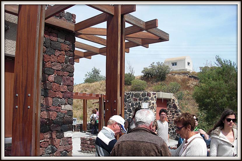 Akrotiri town tour