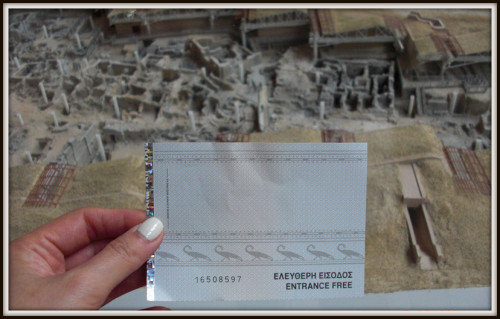 Akrotiri museum ticket