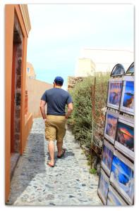 Oia town, explore day 1