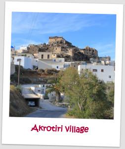 Akrotiri Village