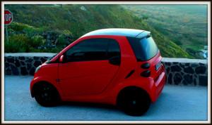 Cars in Oia