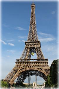 Eifel tower in May 2015