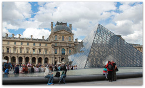 Le Louvre Museum in May